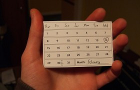 Иллюстрация к идее. Calendar Card - February. Автор: Joe Lanman (CC-BY)